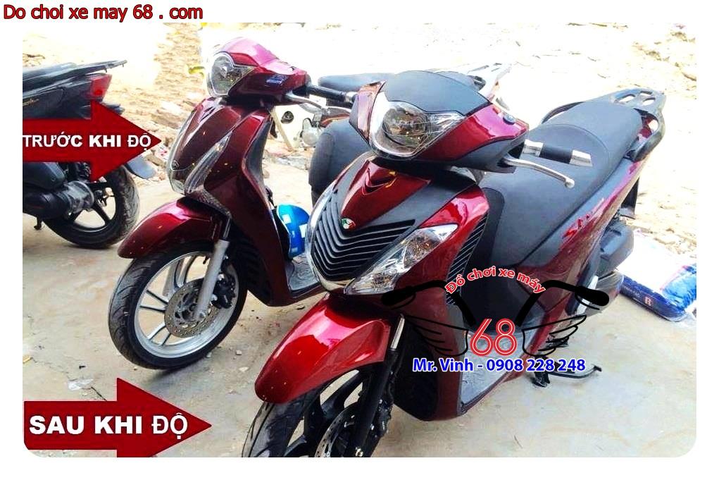 Hình ảnh: Độ dàn áo SH ý cho SH Việt Nam giá rẻ tại shop 68 TPHCM