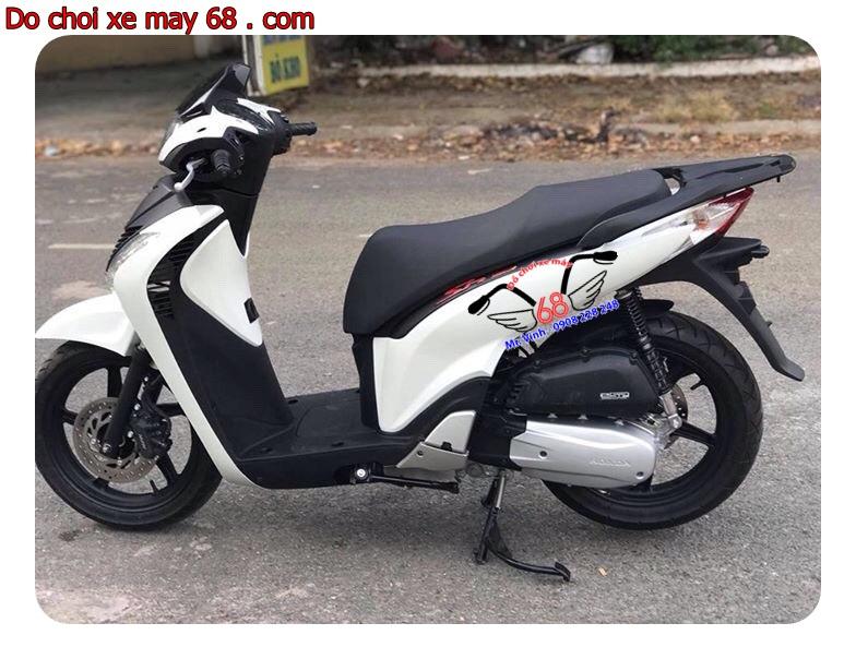 Hình ảnh: Độ dàn áo SH ý cho xe Sh Việt nam giá rẻ tại shop 68 TPHCM
