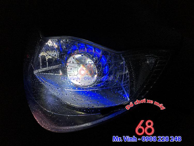 Hình ảnh: gương cầu led, pha bi cầu led, led thiên thần mắt quỷ