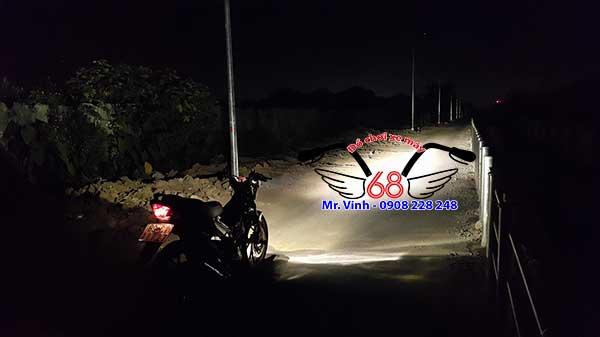 Hình ảnh: Led pha C6 lắp được trên mọi loại xe máy và xe ô tô