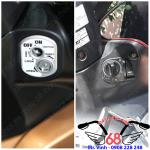 Hình ảnh: Khóa chống trộm chống cướp full chức năng độ cho xe Wave có mở yên điện giá rẻ tại shop 68 TPHCM
