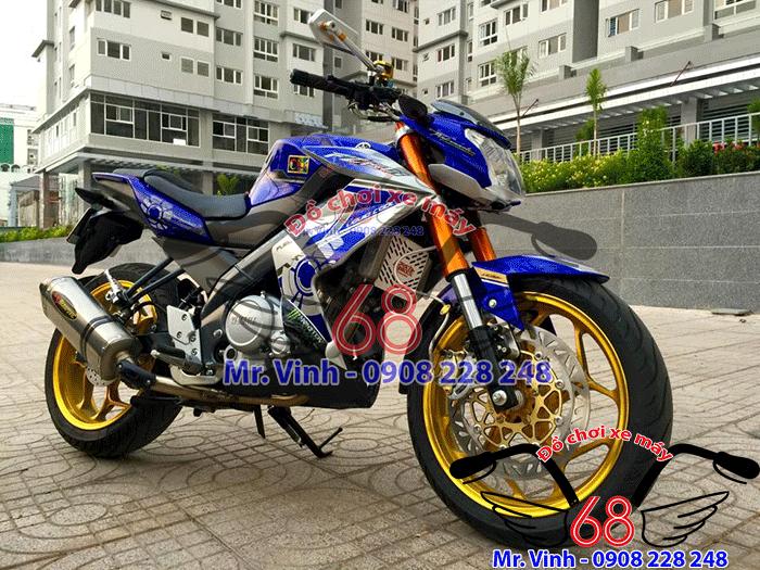 Hình ảnh: Cánh gà Z 250 độ cho xe FZ cực đẹp giá rẻ tại shop đồ chơi xe máy 68 TpHCM Q1