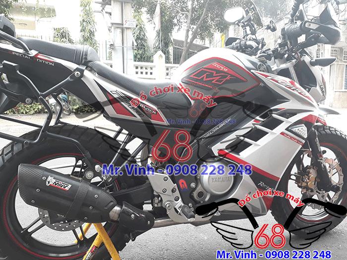 Hình ảnh: Cận cảnh xe FZ độ cực đẹp tại Shop đồ chơi xe máy 68 TpHCM Q1