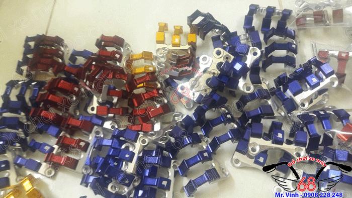 Hình ảnh: Bồ cào che dây dầu sau độ cho SH đủ màu giá rẻ chỉ có tại shop 68 TPHCM