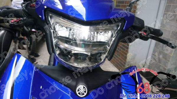 Hình ảnh: Cận cảnh đèn led 2 tầng độ cho Exciter 150 giá rẻ tại shop 68 TPHCM