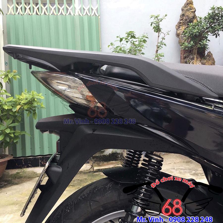 hình ảnh: Cản dắt sh 300 độ cho xe sh 2017 màu đen giá rẻ tại TPHCM