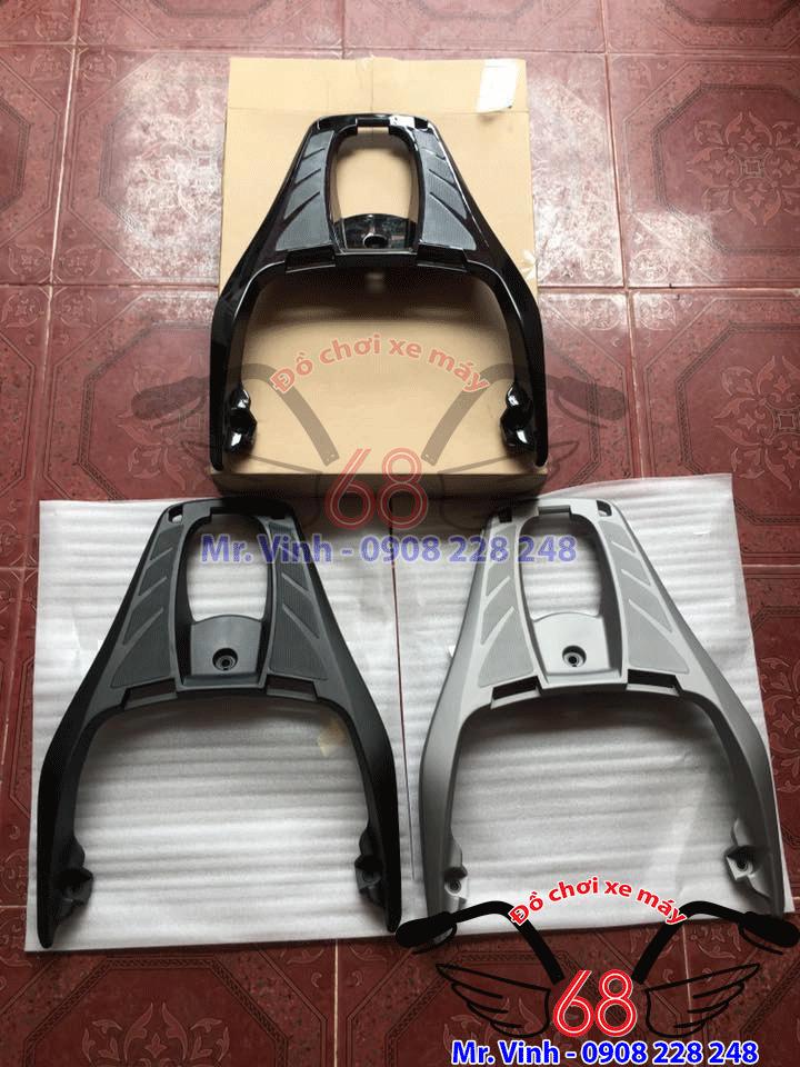Hình ảnh: Cản sau Sh 300i 3 màu đen nhám, đen bóng và màu xám bạc cực chuẩn giá rẻ tại TPHCM