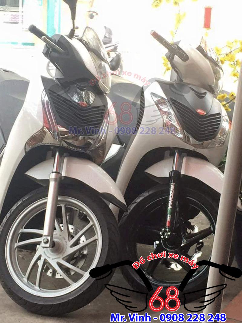 Hình ảnh: Xe sh Việt Nam chưa có lên mâm và xe sh Việt Nam đã lên mâm 5 cây sh ý giá rẻ tại shop 68 TPHCM
