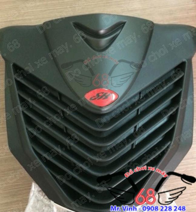 Hình ảnh: Mặt nạ SH độ cho SH Mode màu đen mờ cực chuẩn và khít với xe giá rẻ tại shop 68 TPHCM