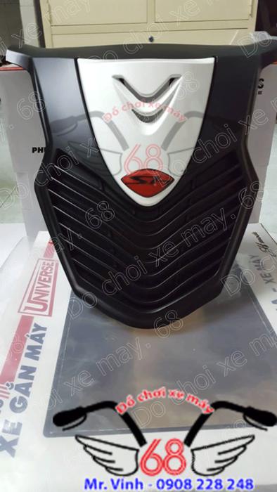 Hình ảnh: Mặt nạ màu trắng đen mẫu SH ý độ cho SH 2017 giá rẻ tại shop 68 TPHCM