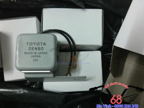 Hình ảnh: kèn xi nhan ting tong hiệu DENSO Toyota giá rẻ tại TPHCM