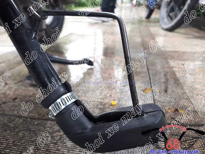 Hình ảnh: Cận cảnh đế lót chân chống cao su tiện dụng giá rẻ tại shop 68 TPHCM