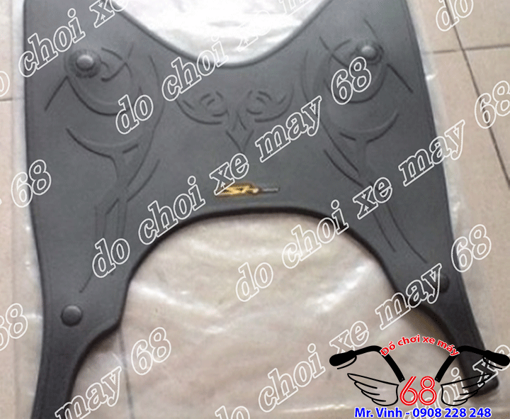 Hình ảnh: Thảm cao su lót chân dành cho xe SH Việt Nam giá rẻ tại shop 68 TPHCM
