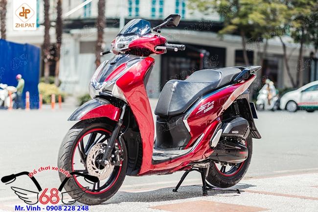Hình ảnh: Độ Dàn áo Body Kit Sh 300 cho xe SH 2017 màu đỏ giá rẻ tại shop 68 Q1 TPHCM