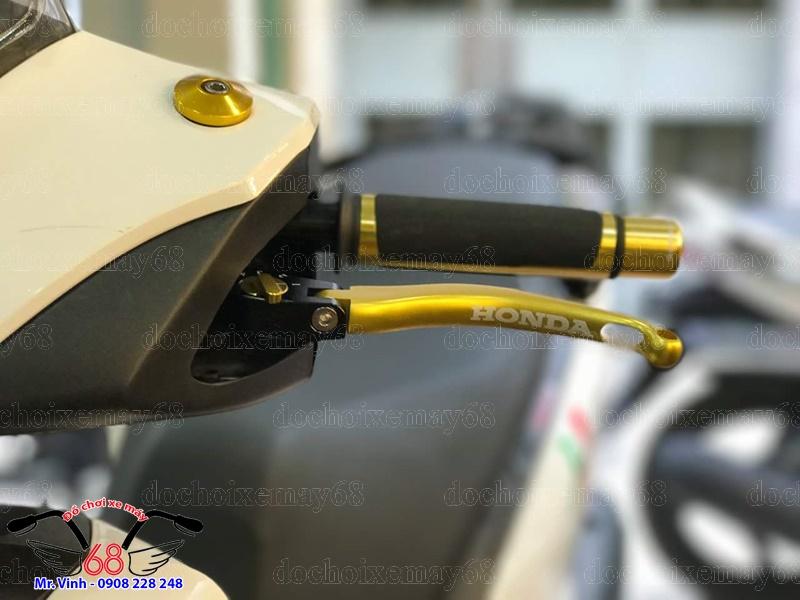 Hình ảnh: Cận cảnh tay thắng IRC lắp trên xe Sh Ý giá rẻ tại shop 68 TPHCM Q1