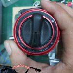 Hình ảnh: Smartkey Honda hình tròn màu đỏ độ cho SH Ý Và Exciter