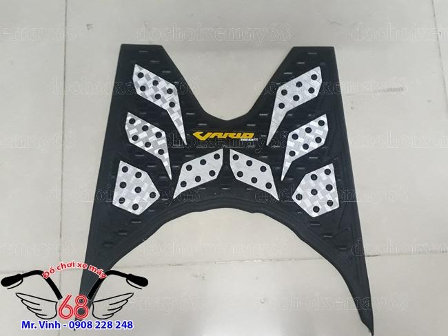 Hình ảnh: Thảm để chân, lót sàn cho xe Vario, Click ThaiLan màu xám bạc giá rẻ tại shop 68 TPHCM Q1