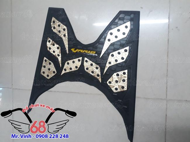 Hình ảnh: Thảm lót chân Vario Indo màu vàng kim ống ánh giá rẻ tại shop 68 TPHCm Q1