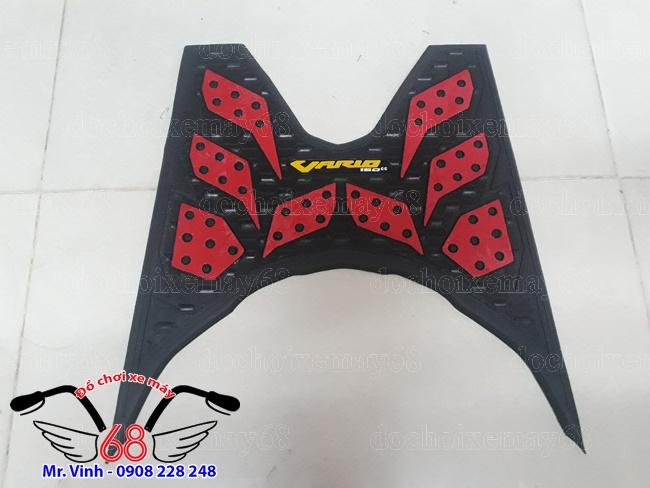Hình ảnh: Thảm lót sàn cho xe Vario, Click màu đỏ giá rẻ tại shop 68 tPHCM Q1