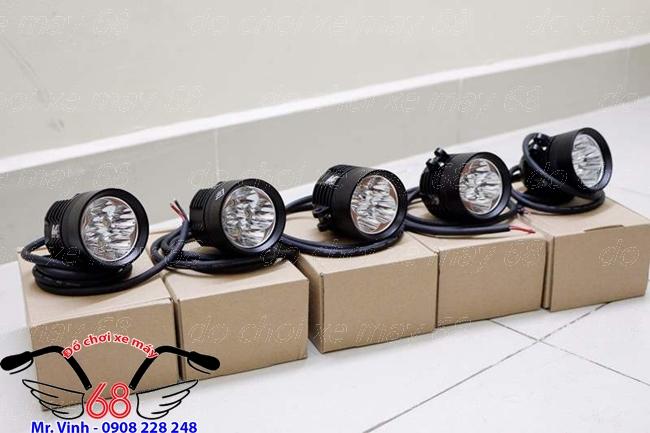 Hình ảnh: Cận cảnh đèn trợ sáng L4X chip XHP 50 giá rẻ tại shop 68 TPHCM Q1