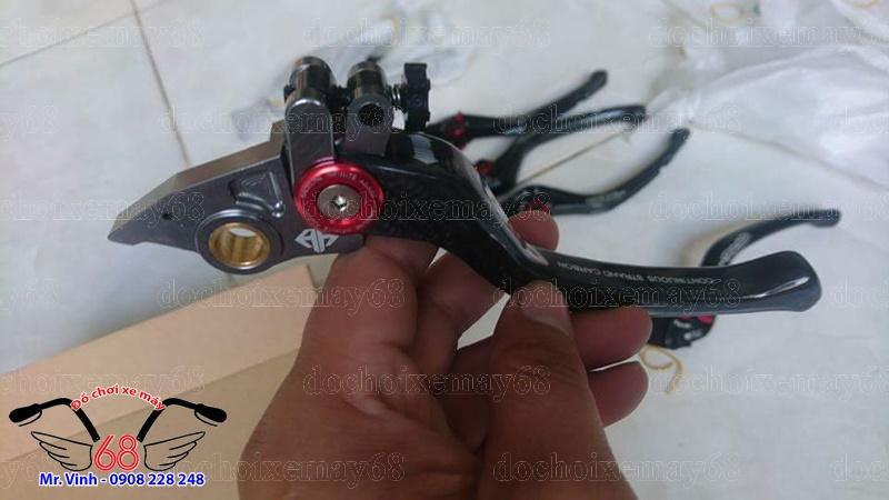 Hình ảnh; cận cảnh tay thắng cacbon xịn 3D giá rẻ tại shop 68 TPHCm Q1