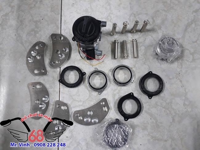 Hình ảnh: Nắp khóa chống trộm smartkey tròn độ cho SH giá rẻ tại shop 68 TPHCM Q1