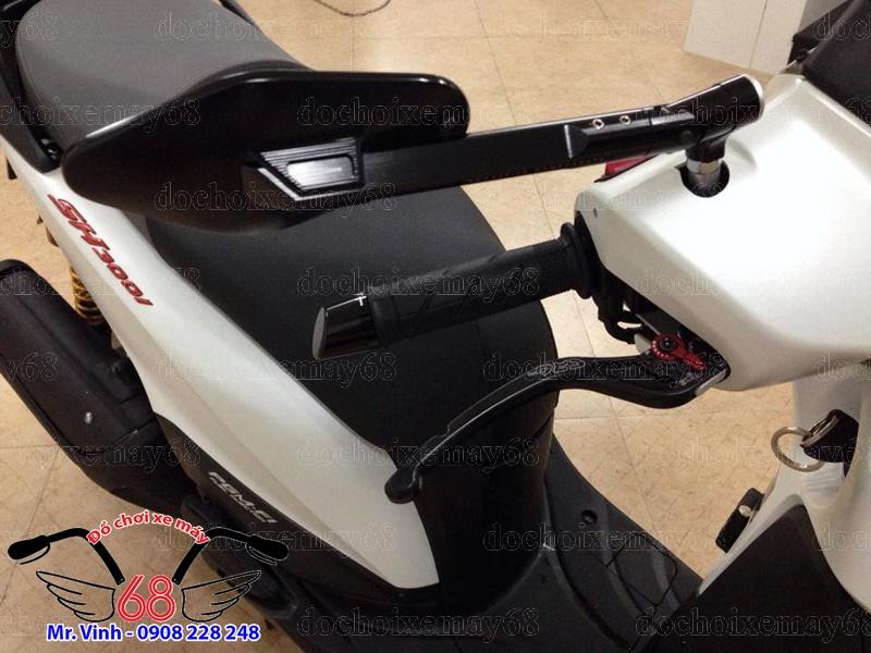 Hình ảnh: SH 300i độ cực chất với vài món đồ chơi khủng như tay thắng và kính chiếu hậu Elisse giá rẻ tại shop 68 TPHCM Q1