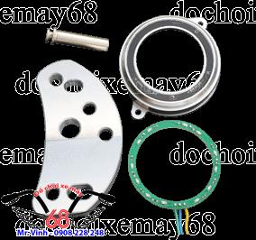 Hình ảnh: Trọn bộ nắp ổ khóa smartkey CNC độ cho SH và Exciter giá rẻ tại shop 68 TPHCM Q1