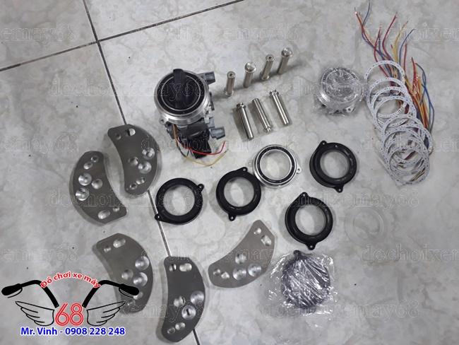 Hình ảnh: Trọn bộ nắp ổ khóa chống trộm cướp CNC hình tròn già rẻ tại shop 68 TPHCM Q1