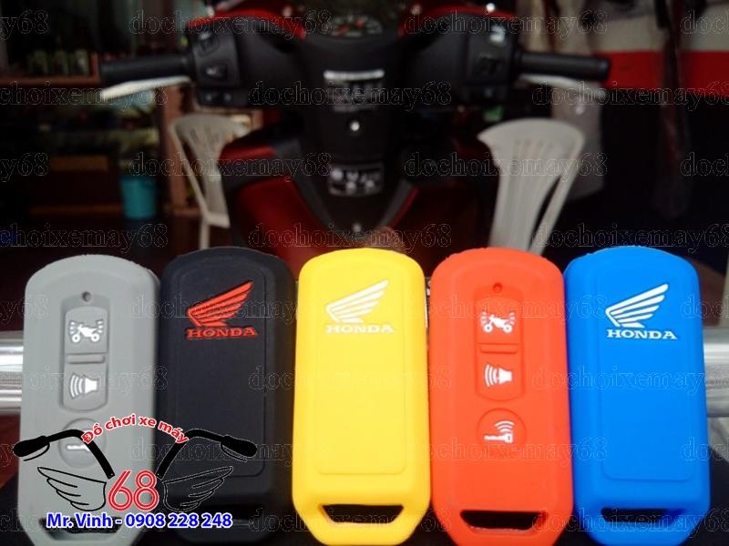 Hình ảnh: Bọc bảo vệ chìa khóa Smartkey bằng cao su giá rẻ tại shop 68 TPHCM Q1