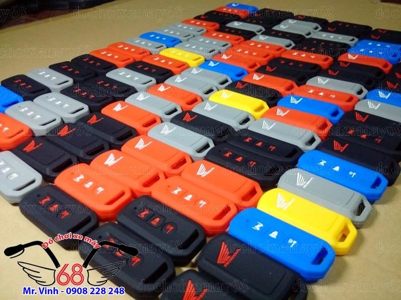 Hình ảnh: Bọc cao su chìa Smartkey đủ màu giá rẻ tại shop 68 TPHCM Q7