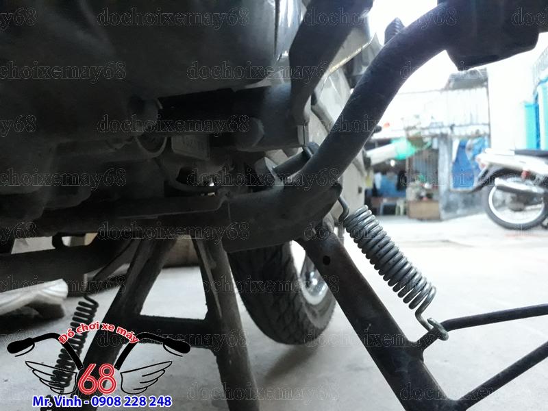 Hình ảnh: Lắp công tắt chống nghiêng cho xe Future tại TPHCM Q7