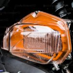 Hình ảnh: Ốp pô E và lọc gió màu cam đọ cho xe Click ThaiLan