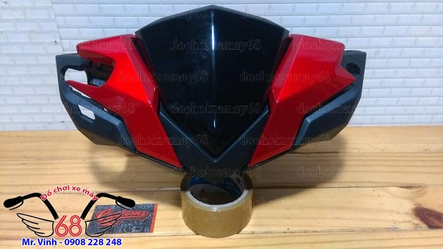 Hình ảnh: Bộ đầu đèn Vario màu đỏ