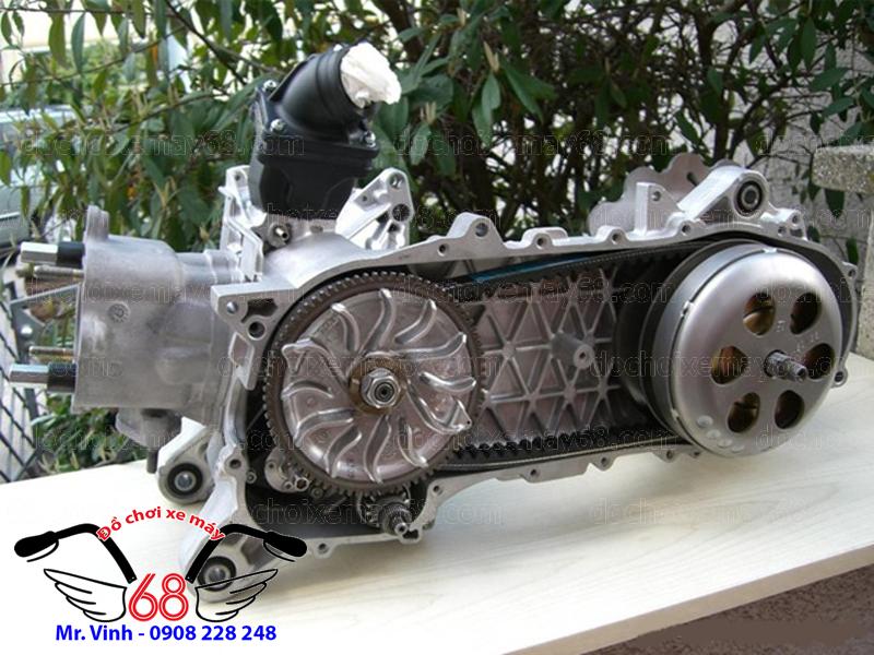 Hình ảnh: Độ nồi xe Piaggio và làm máy lại cho sạch sẽ