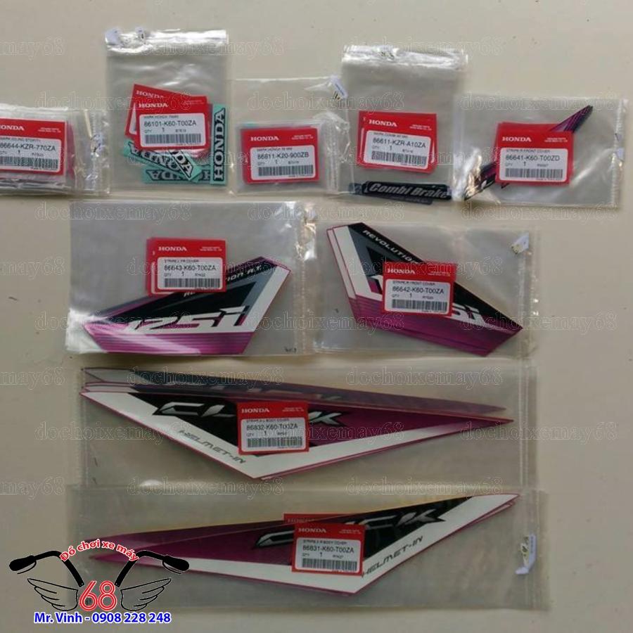 Hình ảnh: Bộ tem Click Thailan màu tím tại shop 68 TPHCM-Q1