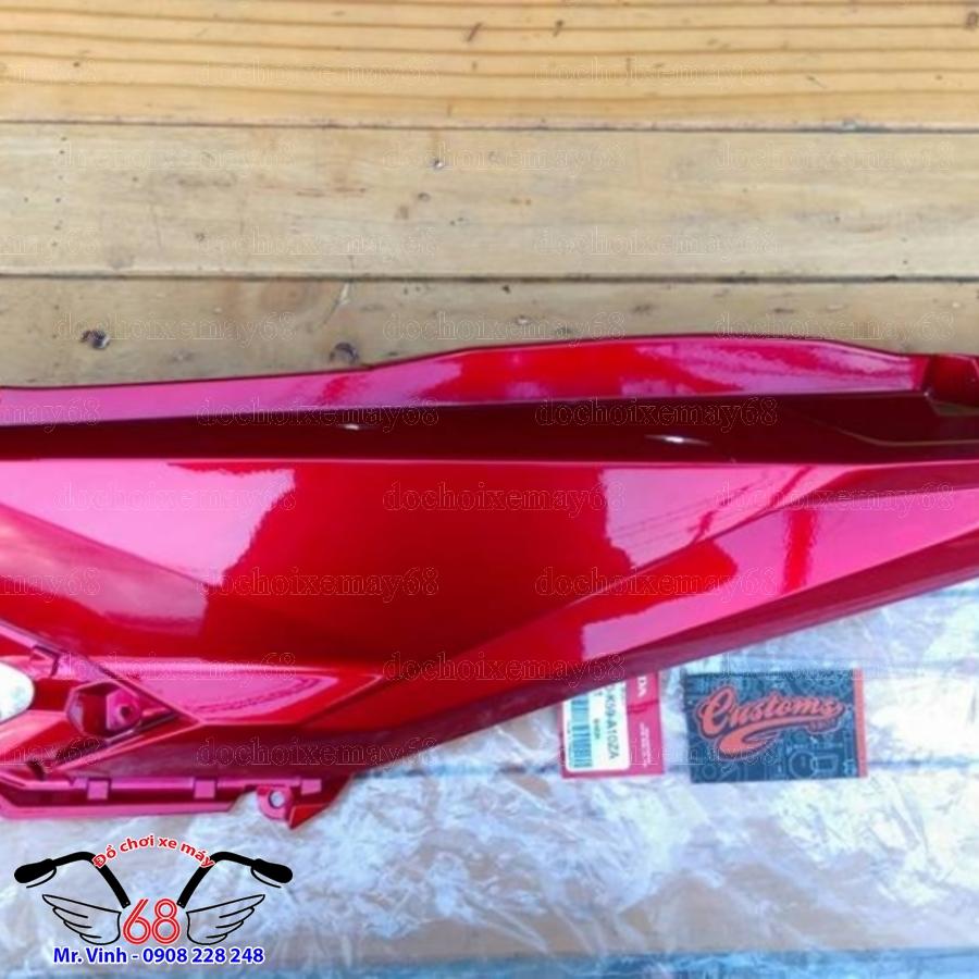 Hình ảnh: Bộ yếm bụng sau xe Vario màu đỏ hàng Indonesia tại shop 68