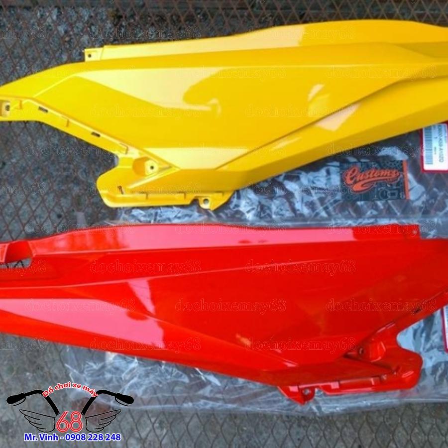 Hình ảnh: Bộ yếm bụng sau xe vario màu vàng và đỏ giá rẻ tại shop 68 TPHCM Q1