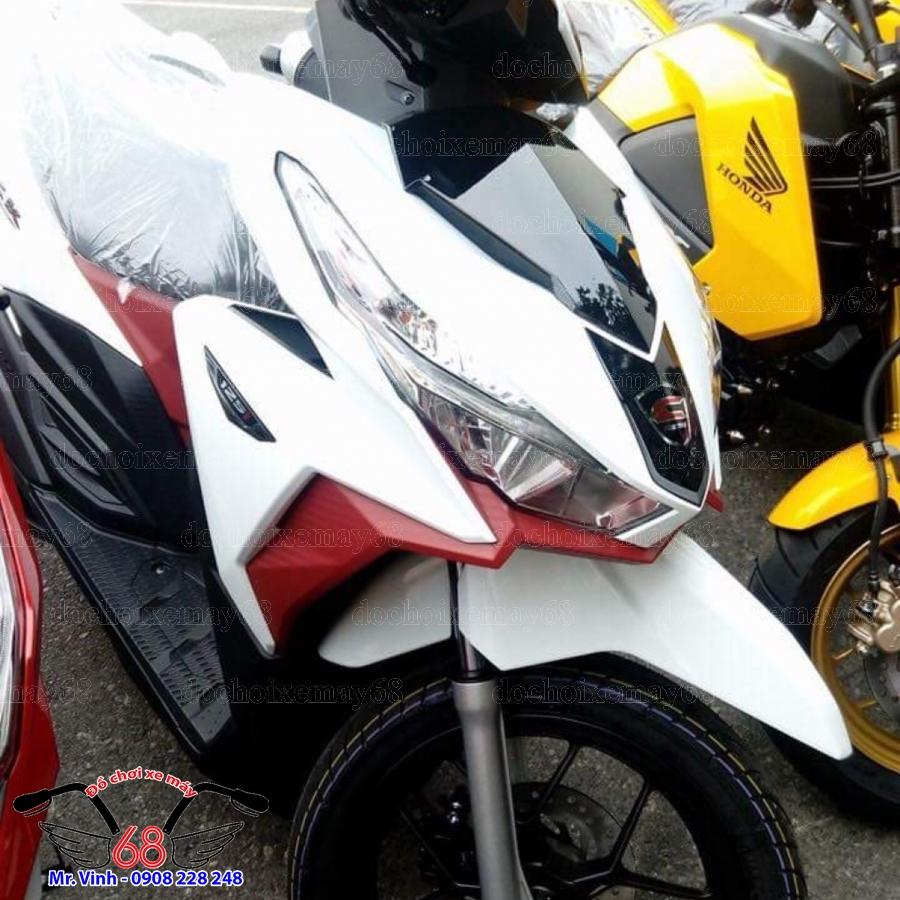 Hình ảnh; Cánh yếm trước Vario màu trắng đươc thay tại shop 68 Q7