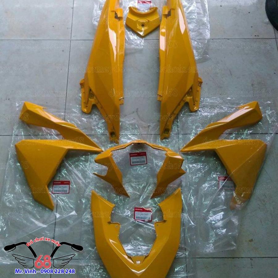 Hình ảnh: Dàn áo Vario màu vàng chính hãng Indonesia tại shop 68