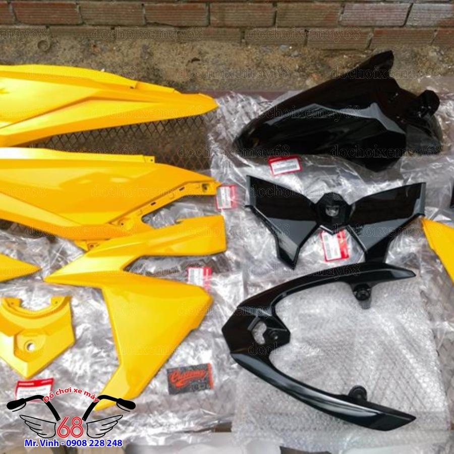 Hình ảnh: Phụ tùng zin dàn áo Vario màu vàng tại shop 68 TPHCM