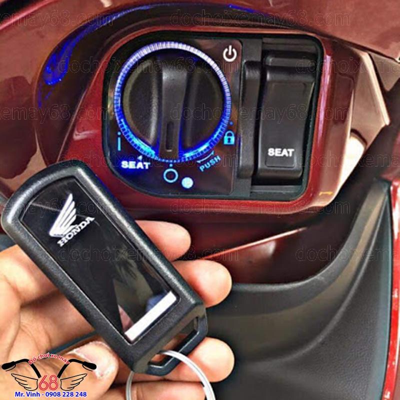 Hình ảnh: Độ khóa smartkey cho xe Visioncực đẹp sát khít