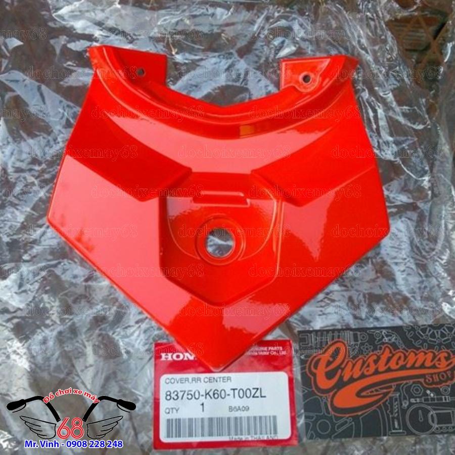 Hình ảnh: Đuôi rùa sau dàn áo Vario màu đỏ tại shop 68 TPHCM Q7