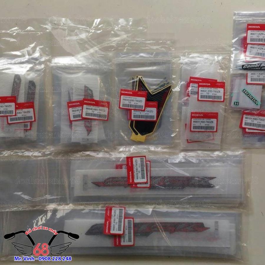 Hình ảnh: Full tem zin Click ThaiLan 125 tại shop 68 Q7