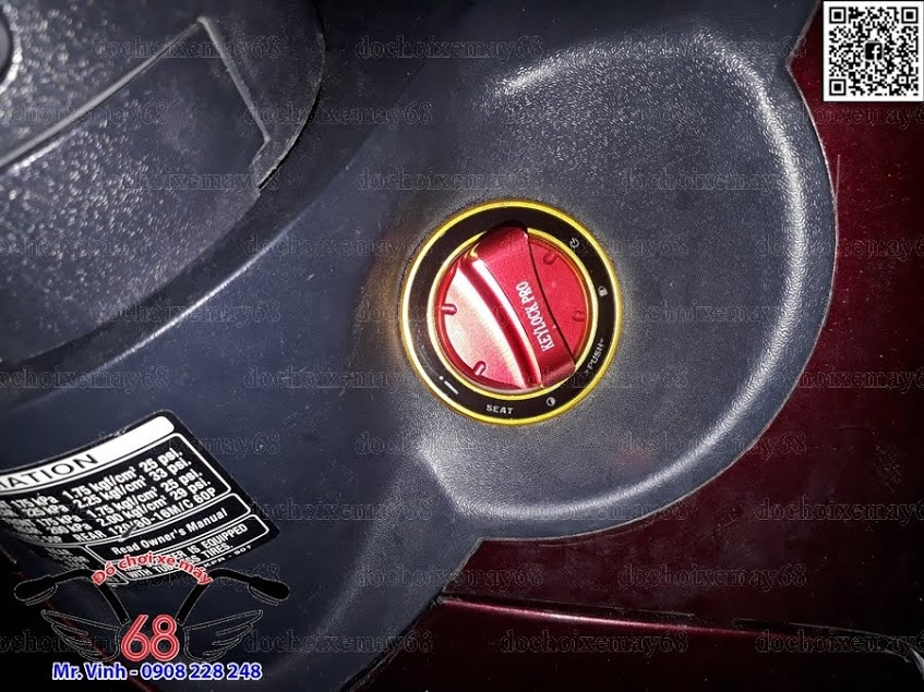 Hình ảnh: Chế khóa Smartkey HONDA chính hãng cho xe SH Ý 2008
