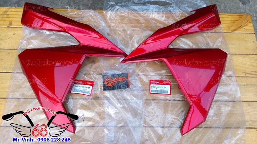 Hình ảnh: Ốp bụng trước xe Vario màu đỏ tại shop 68