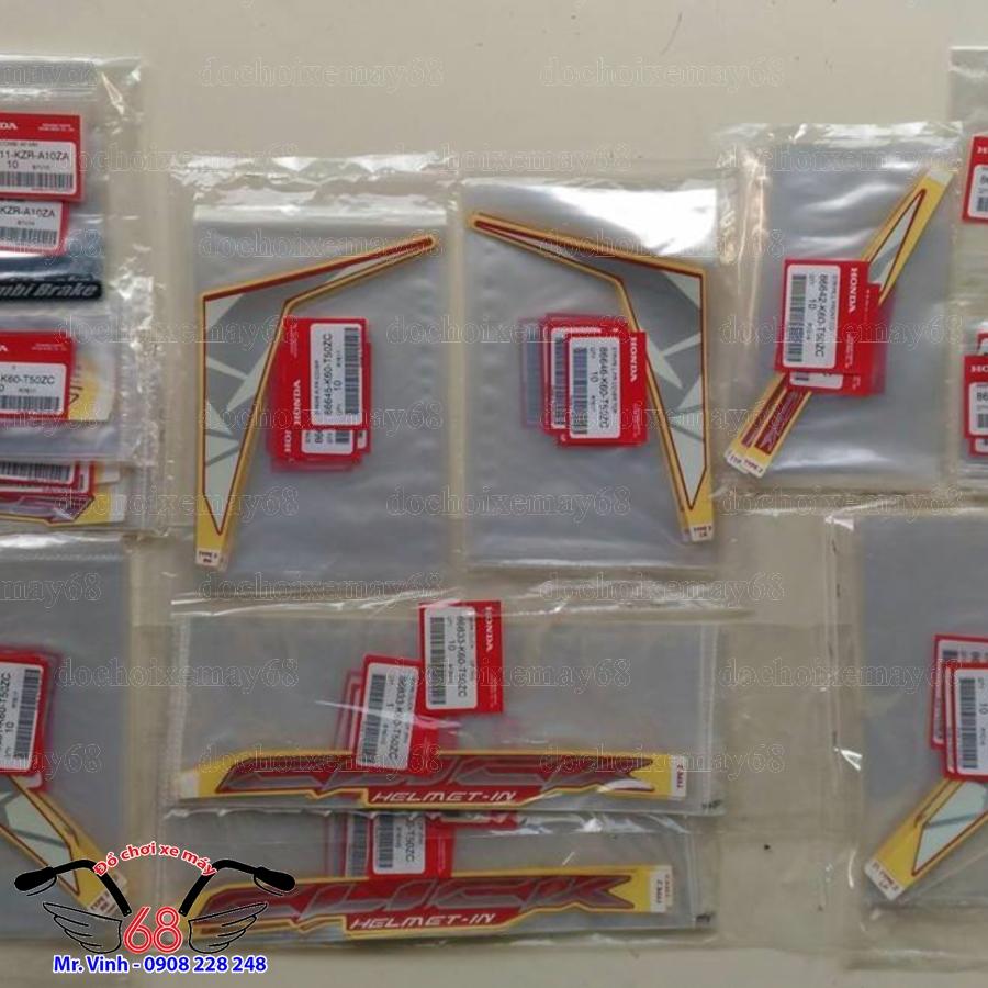 HÌnh ảnh: Tem zin Click Thai 125 tại shop 68