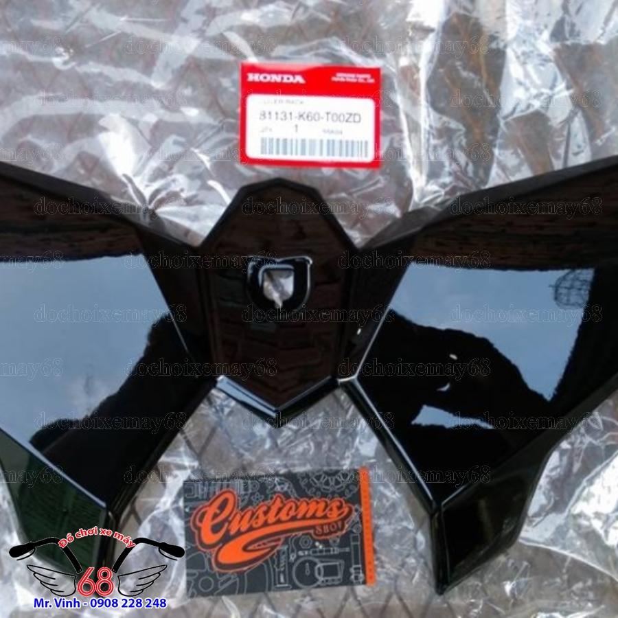 Hình ảnh: Yếm thùng trước màu đen bóng xe Vario Click chính hãng giá rẻ tại shop 68 Q1